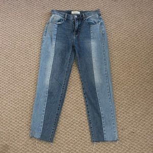 two color jeans